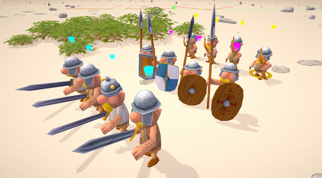Gallic Wars – Units